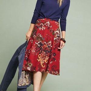 NWT Anthropologie Akemi &Kim Narberth A Line Skirt
